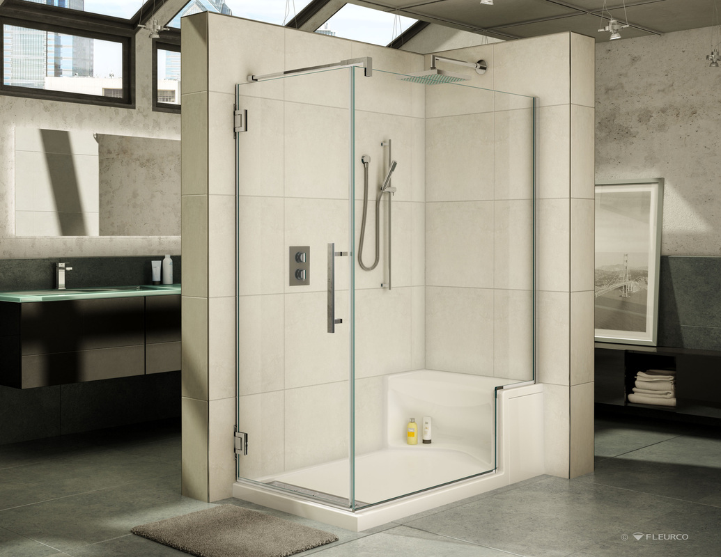 Shower Glass Enclosures - Designhouse Kitchen and Bath, LLC